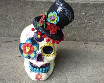Sugar Skull (Male)  Dia de los Muertos