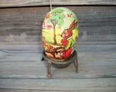 Vintage German Easter Egg