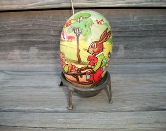 Vintage German Easter Egg