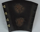 In Stock, Lions Head Large Heavy Archery Forearm Guard, Arm guard, One Size Fits most