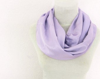 Purple Satin Scarf, Lavender Blue Scarf, Bohemian Silk Satin Scarf in Lilac Add character to your casual clothes