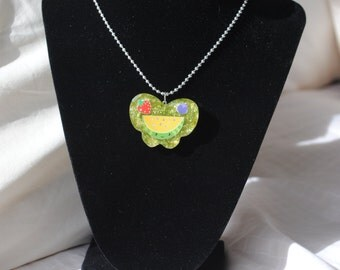 Melons & Berries Resin Necklace