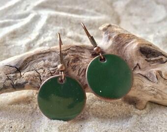 Penny Earrings. penny pop jewelry. penny jewelry