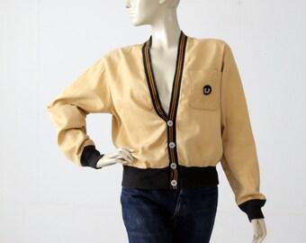 1950s sportswear jacket, Bud Berma cardigan blazer