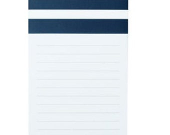 Personalized Magnetic Notepad - Navy