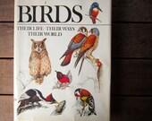 Vintage BIRDS Coffee Table Book