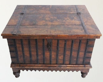 Storage Chest Indian Furniture Coffee Table Shipping Included In The U.S.