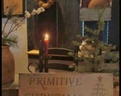 Primitive Christmas sign rustic Christmas simple Christmas sign in cream