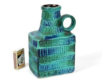 Bay Ceramics Vase Bodo Mans Design 7117 W. Germany Pottery Pottermaster Collection Bitossi Era 1960s