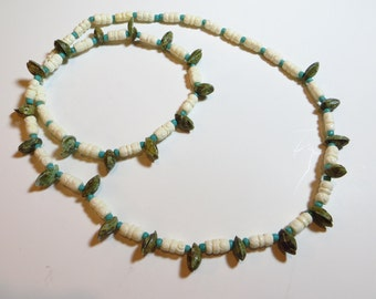 Shell we? shell beaded necklace 30""