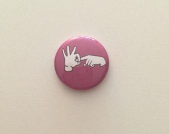 Hand gesture 1 pin