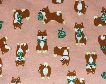 Shiba inu dog One yard pink colour