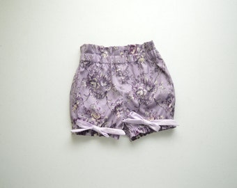 Brocade Bloomer Bow Shorts by Papoose Clothing