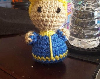 Fallout - Inspired Vault Boy Plush