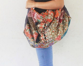 Unique design Hand  made Thai patchwork  Cross body hippie  Bag,hippie bag,bohemain,bagpack,sarong.travel