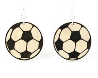 Soccer Balls out of Laser Cut Wood
