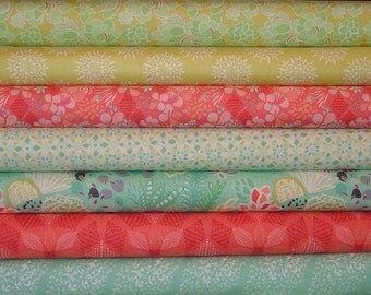 Canyon Fat Quarter Bundle of 7 by Kate Spain for Moda
