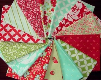 Hello Darling Fat Quarter Bundle of 14 by Bonnie & Camille for Moda