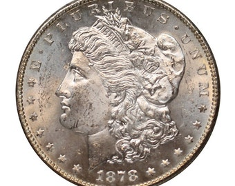 1878 S U.S. Morgan Silver Dollar