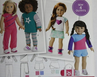 Simplicity Pattern  #S0171   American Doll