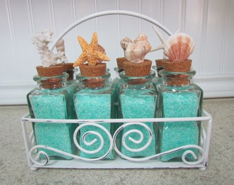 Coastal Bath Salts Caddy