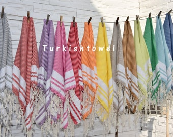 Turkishtowel-Soft-Hand woven,warp&weft cotton Hand,Tea,DishTowel-Matching pattern,You can chooise color