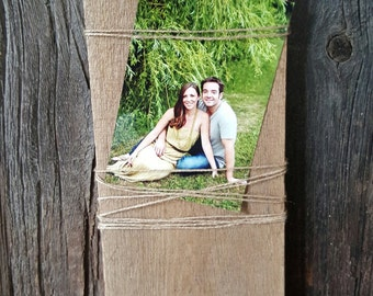 Reclaimed Wood Photo Display, Photo Display, Picture Board