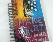 "Make Art Portable: Handmade Art Journal, 5"" x 7.5"""