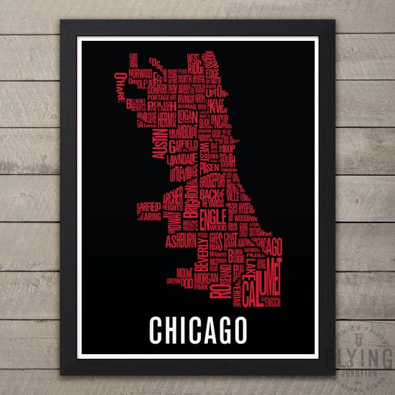 21 simple Chicago Neighborhood Map Poster – bnhspine.com on