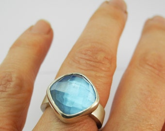 Flora Ring - blue