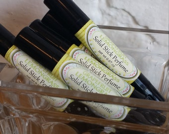 Grapefruit Lemongrass solid perfume stick/ Perfume/ Grapefruit/ solid Perfume