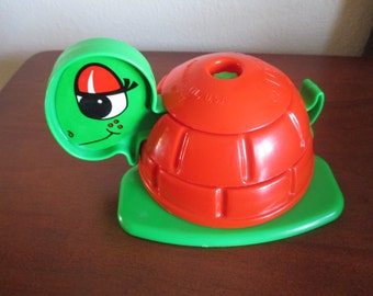 Vintage Kusan Toy Turtle Puzzle Toy - Made In The USA