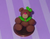 Mistletoe the Miniature Christmas Teddy Bear