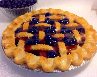 Blueberry  Pie Candle-9 inches