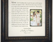 Wedding Gift for Parents, Mother of the Bride Gift, Parents Wedding ...