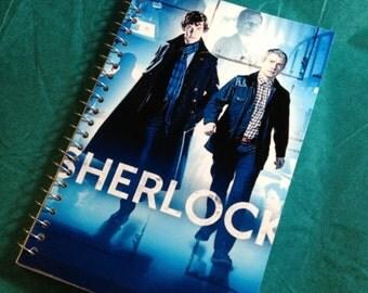 SUMMER SALE Sherlock pocket memo book