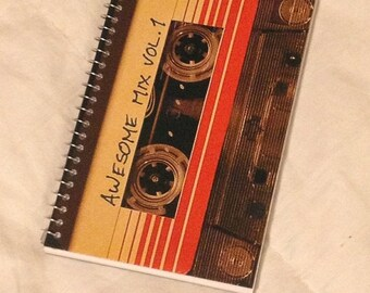 SUMMER SALE Guardians of the Galaxy Awesome Mix Vol. 1 pocket memo book