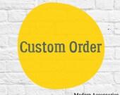 Custom Listing for Kacie