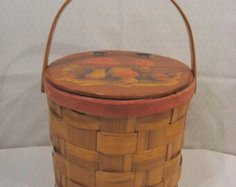 Wonderful Fomerz woven wooden purse, box, basket, handbag, handmade in Spain