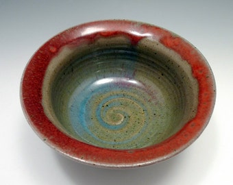 Little Red Wabi Bowl