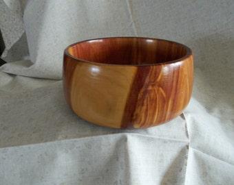 Red Cedar Wood  bowl