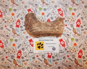 "Organic Jumbo Elk Antler Dog Chew ""Made in Montana"" (Lot G9)"