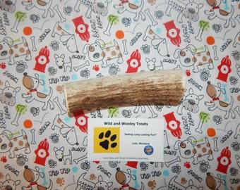 "Organic Large Elk Antler Dog Chew ""Made in Montana"" (Lot G10)"