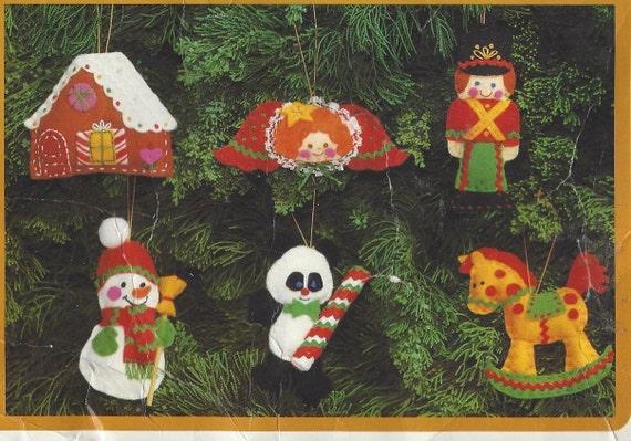 S toyland ornaments felt ornament kit by creative circle