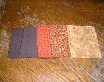 Fall Fabric Fat Quarters