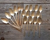 Assorted pieces of Flatware by the Stratford Company Ladyship 1937 Pattern 18 pieces total