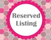 Reserved Listing for  Donna Matricciani
