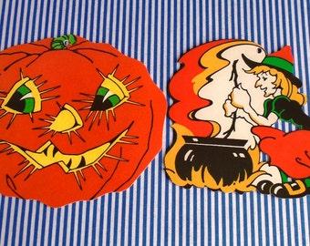 Retro Halloween Die Cuts