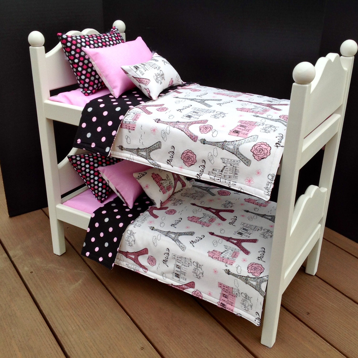 American Girl Doll Furniture Bunk Beds With By Bedsandthreads