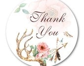 Thank You Stickers, Custom Stickers, Custom Wedding Stickers, Custom Labels - Made to Order Shipping End of July 2016